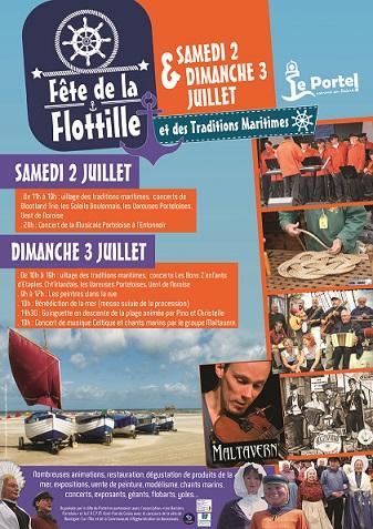 Affiche Fête de la Flottille 2016