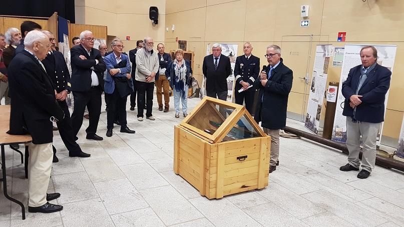 Inauguration exposition Calais port de guerre - M BROUSSART