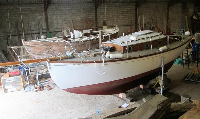 Samalia au chantier naval - FRCPM
