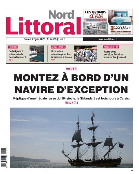 Une Nord Littoral 27 juin 2020
