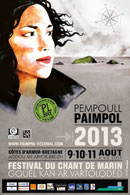 Affiche Paimpol 2013