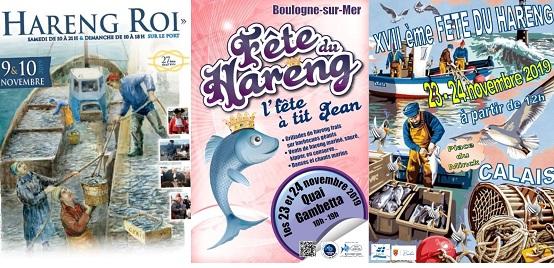 Affiches fêtes du hareng 2019