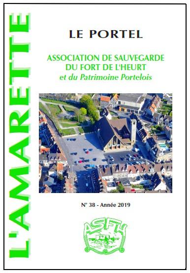 Couverture Amarette 38 - ASFHPP