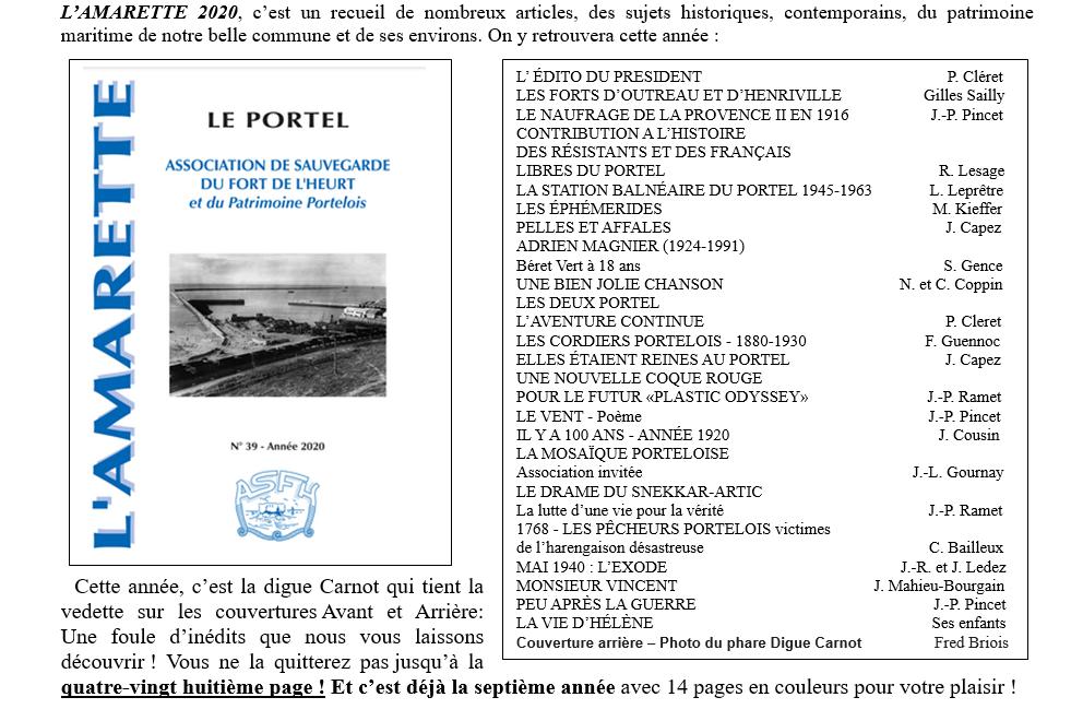 Couverture et sommaire Amarette 39