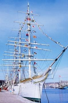 Le trois-mâts Duchesse-Anne - photo F. BERTOUT