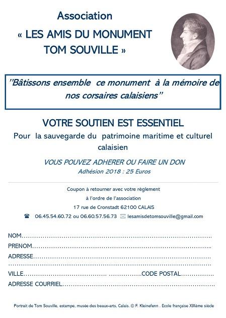 Adhésion Amis du monument T Souville