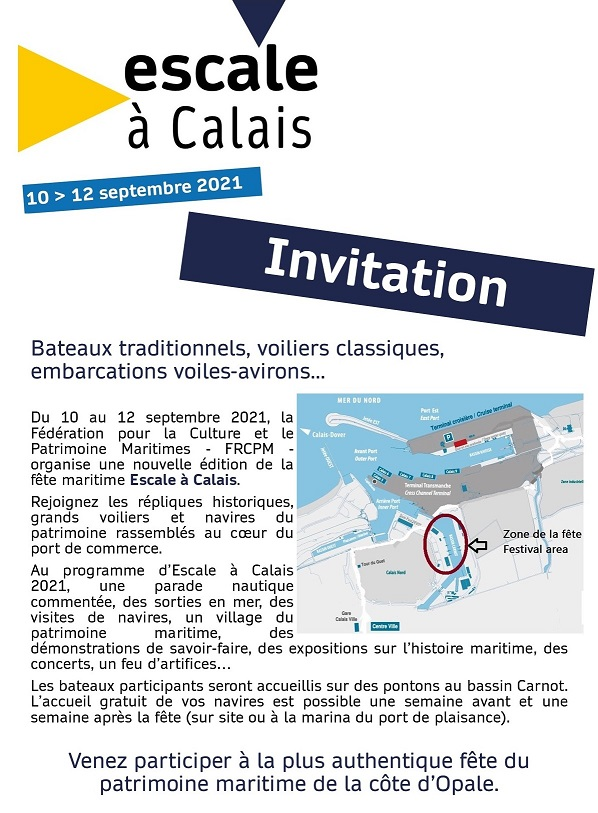Invitation bateaux EaCl21 - FRCPM
