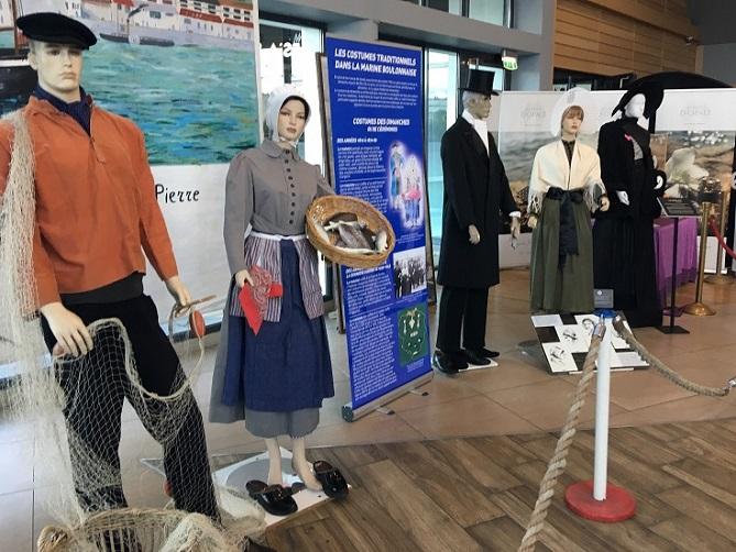 Exposition Costumes des gens de mer - Soleils boulonnais