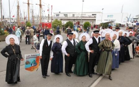 Les Soleils boulonnais à Brest 2012 - photo P Boidin