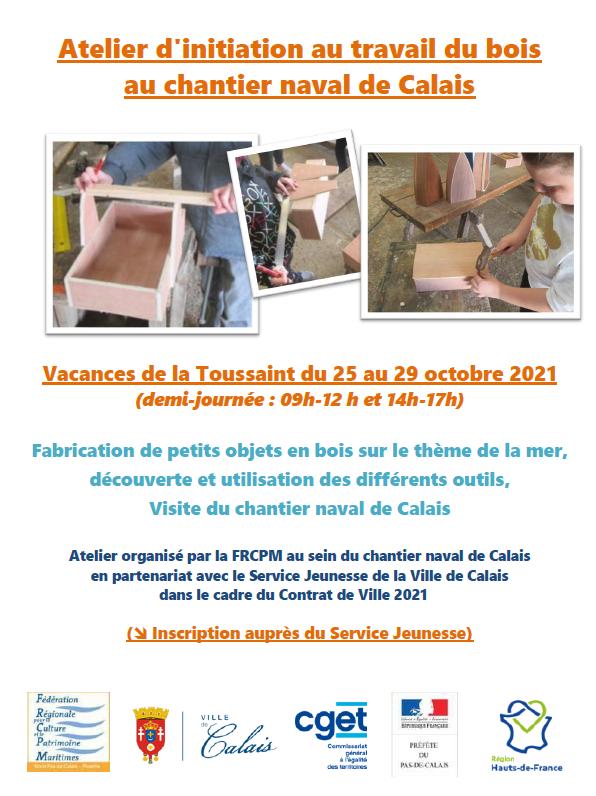 Affiche ateliers bois 1021