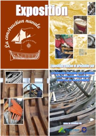 Affiche exposition Construction navale