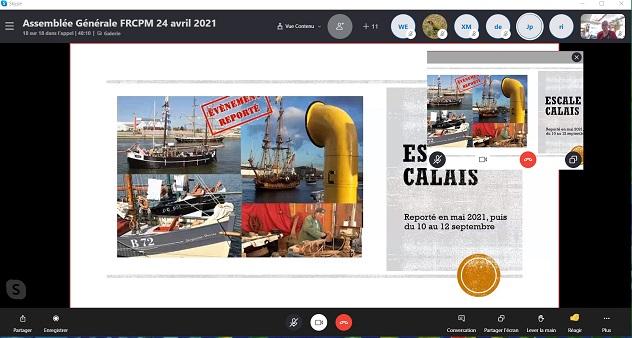 Capture écran AG FRCPM 2020