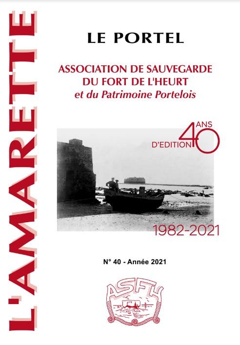 Couverture Amarette 2021