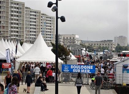 La Côte d'Opale fête la mer 2017, quai Gambetta - FRCPM