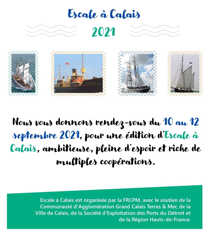 Texte report Escale à Calais 2021
