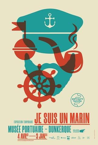 Affiche exposition Je suis marin