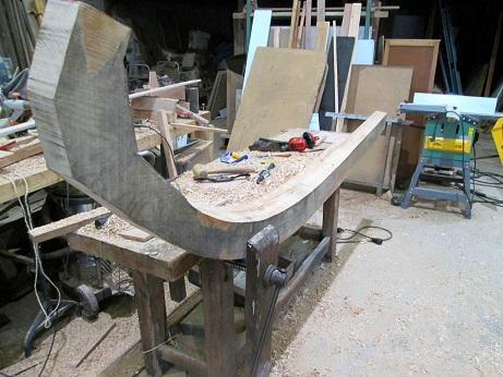 Lorette fabrication membrure - FRCPM